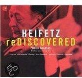 Jascha Heifetz - Rediscovered - Brahms, Grieg: Violin Sonatas