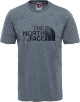 The North Face S/S Easy Tee - Eu Shirt Heren - Tnf Medium Grey Heather (Std)