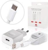 Huawei universele adapter + 1m USB-C kabel - Snel laden - Wit