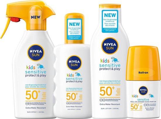 NIVEA SUN Kids Sensitive Protect & Play Zonnespray SPF 50+ - 300 ml
