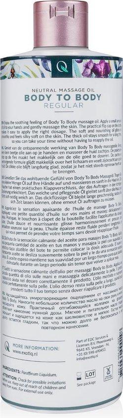 Exotiq Body To Body Massageolie - 500 ML