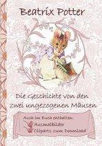 Die Geschichte von den zwei ungezogenen Mausen (inklusive Ausmalbilder und Cliparts zum Download)