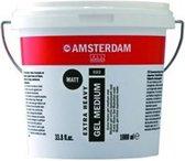 Amsterdam Extra Heavy Gel Medium Mat 022 Pot 1000 ml