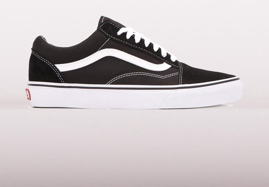 Vans Old Skool Sneakers - Unisex - Zwart/Wit - Maat 40