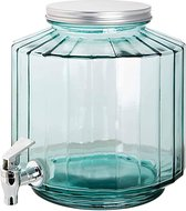 Neutraal Recycled Drankcontainer 6 l - Gerecycled glas -