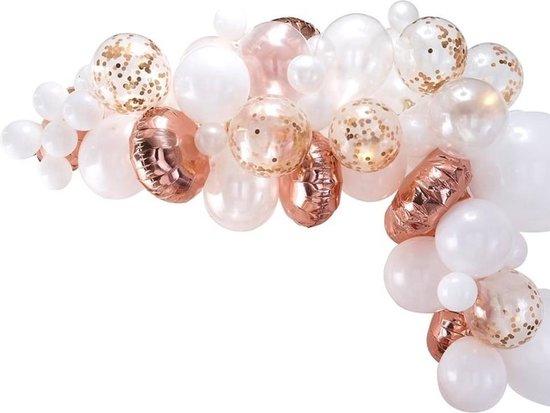 Ballonnenboog Kit - Rose Goud