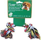 Floss-toy gekleurd klein