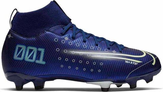 Nike Mercurial Superfly 7 Voetbalschoenen GrasKunstgras (FGAG) blauw donker 36 12