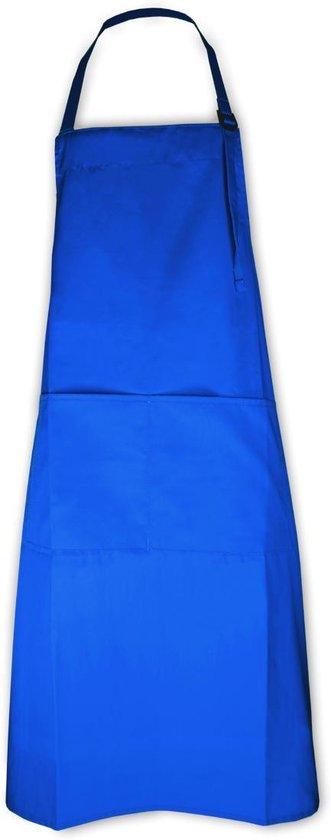 Keukenpakket Royal Blue: 1 Apron schort, 2 ovenwanten, 2 pannenlappen en 1 theedoek