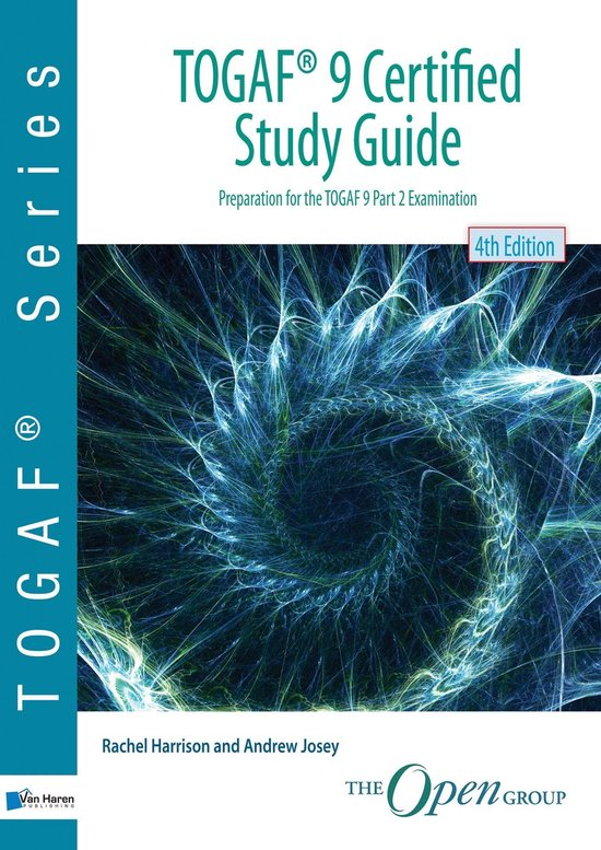 Boek cover TOGAF® 9 Certified Study Guide - 4th Edition van Andrew Josey (Onbekend)