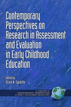 Omslag Contemporary Perspectives on Research in Assessment and Evaluation in Early Childhood Education