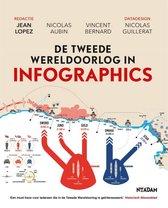 Omslag De tweede Wereldoorlog in infographics