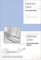 Elegance Laken Katoen Perkal - licht blauw 240x275
