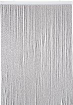 Wicotex Vliegengordijn - 100x240 cm - Transparant/ Zwart
