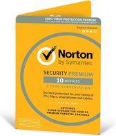 Norton Security Premium 2019 10 Apparaten | 1 jaar | Met 25GB Backup | Windows / Mac / iOS / Android