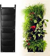 ForDig Verticale Plantenhanger – verticale plantenzak - verticale moestuin – 7 zakken