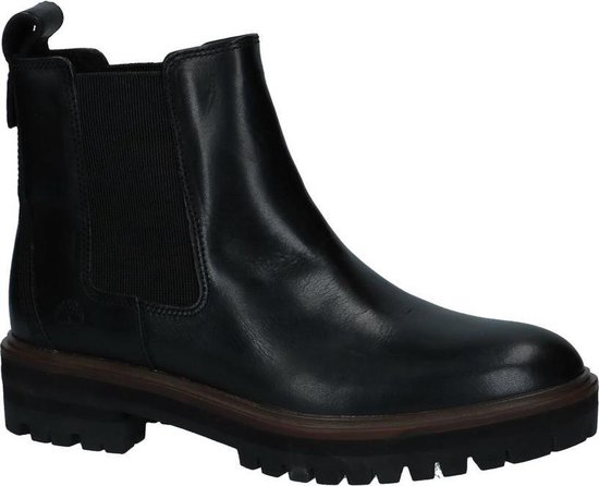 Timberland London Square Double Gore Chelsea Chelsea boots Dames Maat 39,5 Zwart;Zwarte 015 Black Full Grain