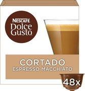 NESCAFÉ® Dolce Gusto® Espresso Macchiato Cortado - 3 doosjes à 16 capsules geschikt voor 48 kopjes