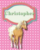 Handwriting and Illustration Story Paper 120 Pages Christopher
