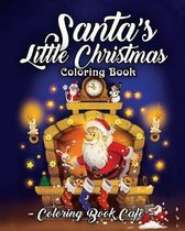 Santa's Little Christmas Coloring Book