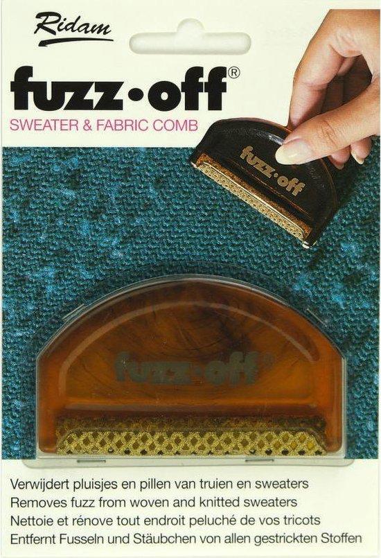 Fuzz-off pluizen kam