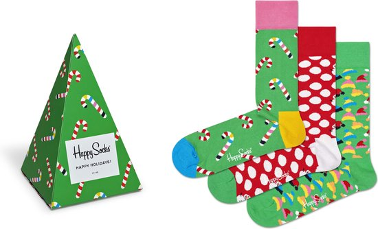 Happy Socks Holiday Tree Giftbox - Maat 41-46