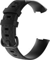 Fitbit Charge 3 / 4 Bandjes |Polsbandjes | Armband  Fitbit Charge 4 Zwart