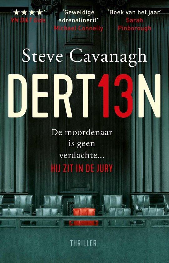 Boek cover Eddie Flynn - Dertien van Steve Cavanagh (Paperback)