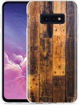 Galaxy S10e Hoesje Special Wood