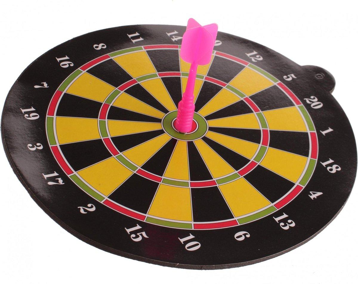 Lg-imports Dartbord Magnetisch Roze 20 Cm