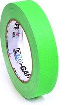 Pro Gaff neon gaffa tape 24mm x 22,8m groen