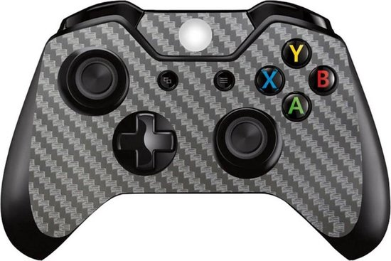 Carbon zilver – Xbox One controller skin