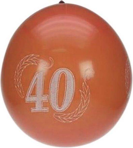 Ballonnen 40 jaar per 8