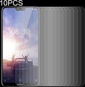 Let op type!! 10 stuks 0 26 mm 9H 2.5D getemperd glas Film voor Nokia X 6
