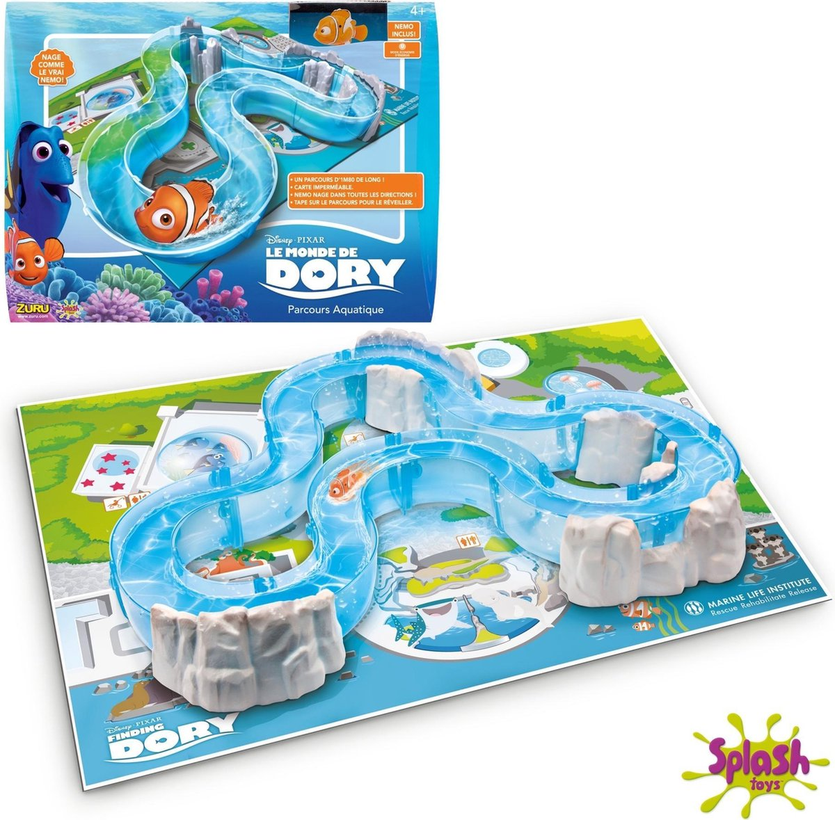 Splash Toys 31251 - Route Fish / Nemo - Finding Dory Water Parcour Speelgoed - Robo Fish