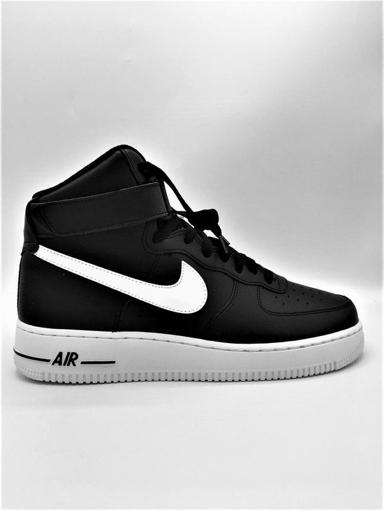 Nike Air Force 1 Heren Sneakers - Zwart/Wit - Maat 44
