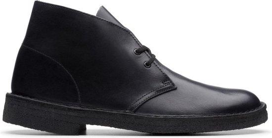 Clarks - Herenschoenen - Desert Boot - G010108 - zwart - maat 9,5