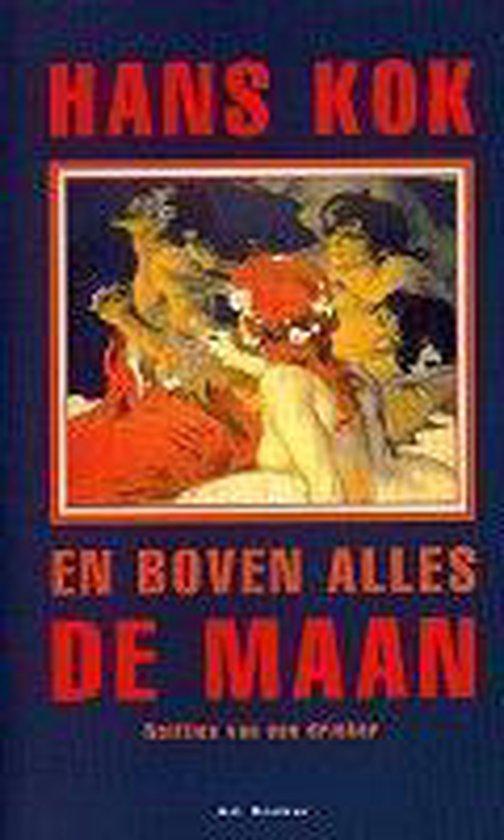 Boek cover En boven alles de maan. Notities van een drinker van Guillaume van der Graft (Hardcover)