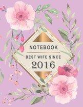Notebook - Best Wife Since 2016