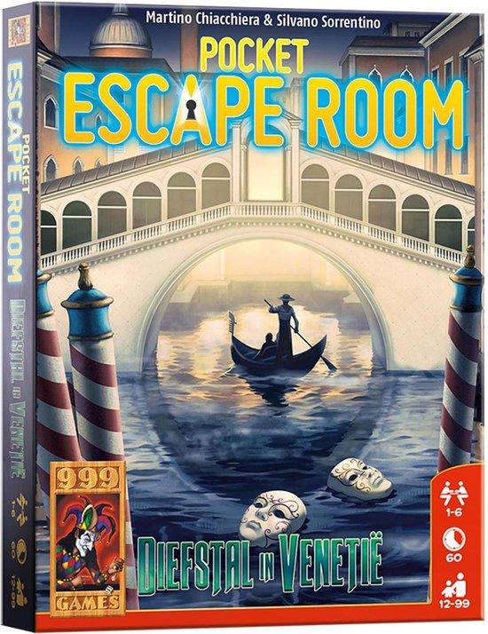 Pocket Escaperoom Diefstal in Venetië – Gezelschapsspel