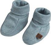 Baby's Only Melange Slofjes - Stonegreen - 0-3 maanden