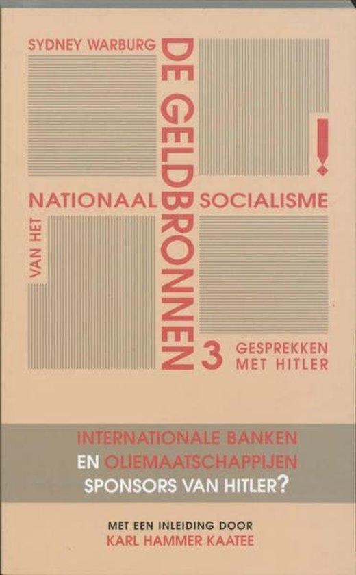 De geldbronnen van het nationaal socialisme