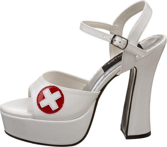 Zuster schoenen met rood kruis 41