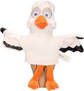 Pluche Fabeltjeskrant juffrouw Ooievaar handpop knuffel 25 cm speelgoed - Fabeltjeskrant poppen - Ooievaars vogels knuffels - Poppentheater speelgoed kinderen
