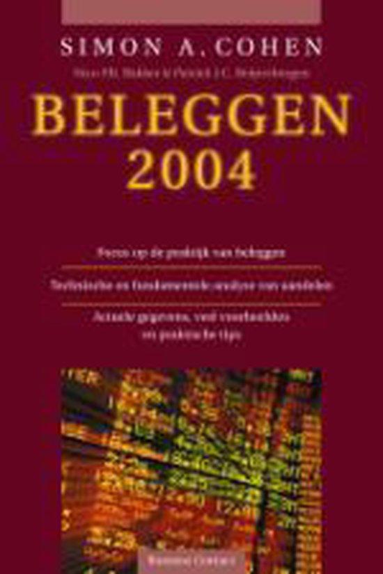 Cover van het boek 'Beleggen / 2004'