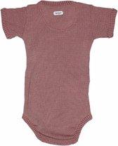 Lodger Rompertje Baby - Romper Ciumbelle - Donkerroze - Korte mouw - 56