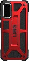 UAG Monarch Backcover Samsung Galaxy S20 hoesje - Crimson Red