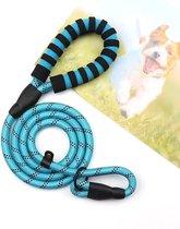 Hondenriem - Sliplijn - Cesar Millan - Trainings halsband- Blauw - Pixypet