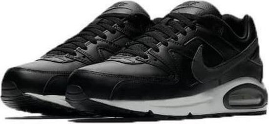 Nike Air Max Command Leather Heren Sneaker  - zwart/antraciet - maat 41