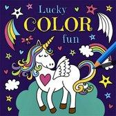 Lucky color fun eenhoorn kleurboek
